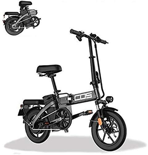 Alta velocidad Inteligente montaña bicicleta plegable eléctrica, for adultos, la gama de energía a 280 kilómetros de la bicicleta desmontable 48V / 28.8Ah de iones de litio con 3 modos Riding
