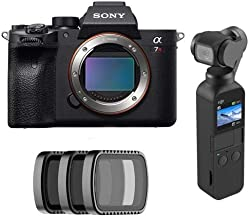 $3498 » Sony a7R IV Mirrorless Digital Camera Body - with DJI Osmo Pocket 3-Axis Gimbal Stabilized Handheld Camera, Polar Pro Cinema Vivid Collection, ND4/PL, ND8/PL & ND16/PL Filters for DJI Osmo