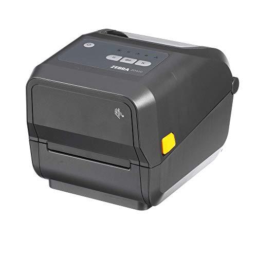 Zebra - ZD420t Thermal Transfer Desktop Printer for Labels and Barcodes - Print Width 4 in - 203 dpi - Interface: USB - ZD42042-T01000EZ