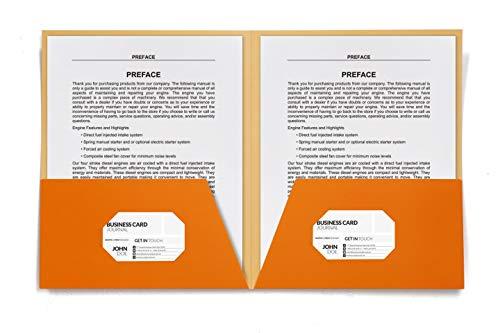 HUAPRINT 2 Pocket Folders,Pocket Folders Letter Size Bulk-(24 Pack Assorted Colors),Pocket File Folders Include Labels,Laminated Heavy Duty Paper Two Pocket Folders for Office Home School Photo #5