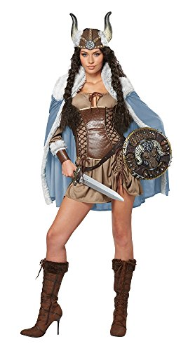 California Costume - CS929616/L - Costume guerriere viking taille l