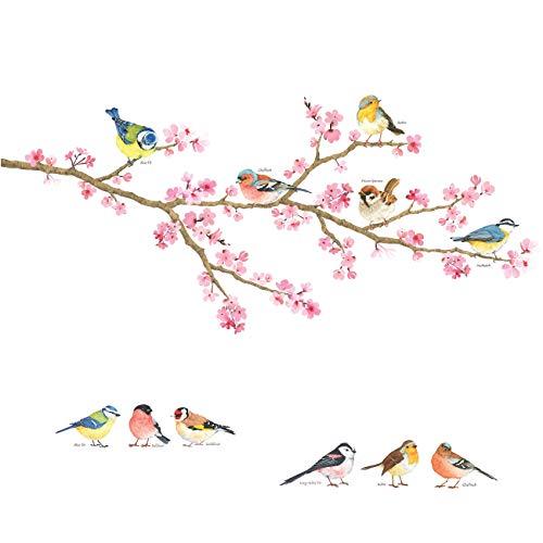 DECOWALL DS-8039 flor de cerezo &...