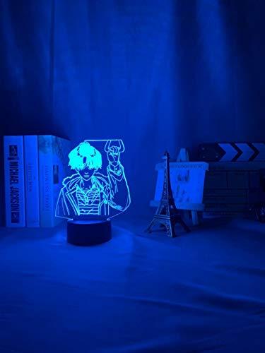 YOON DUYAO00 - Luz LED 3D para mujer, diseño de anime, para la decoración de la habitación
