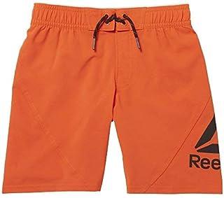 Reebok B WOR BW BRDSHORT - Pantalón corto para chico, color naranja