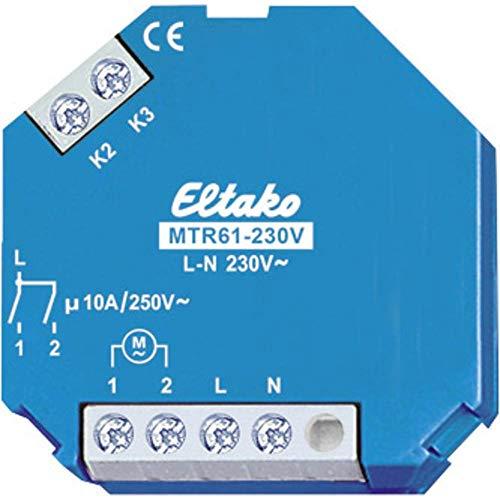 Eltako Motor-Trennrelais 230V, 2 Plus 2 Schließer Nicht potenzialfrei 5A/250V AC, 1 Stück, MTR61-230V