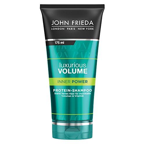 John Frieda Luxurious Volume Inner Power - Protein-Shampoo - Stärkt feines Haar - Auch für gefärbtes Haar - Inhalt: 175 ml