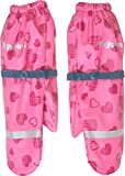 Playshoes Mädchen Matschhandschuh mit Fleece-Futter Herzchen Handschuhe, Rosa (Pink 18), 2 (Herstellergröße: 2)