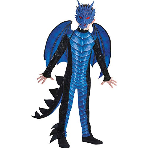 amscan Boys Deadly Dragon Costume - Large (12‑14), Multicolor