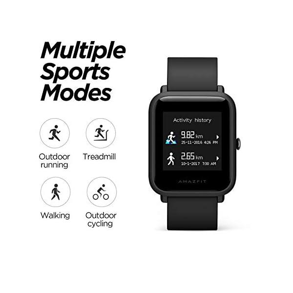 Amazfit BIP Lite Smart Watch- Blue (UP to 45 Days Battery Life_3 ATM) 7 41AlGR+ULzL