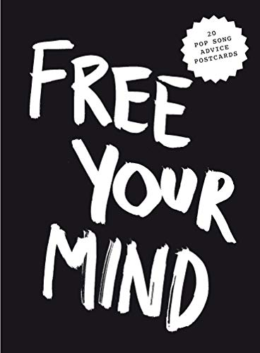 Kraft, M: Free Your Mind Postcard Block. (Pop Music Wisdom)