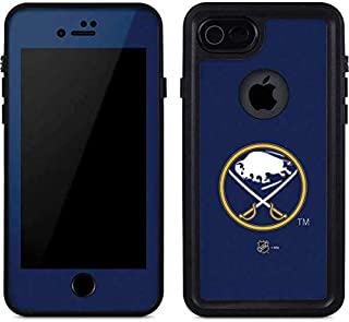 Skinit Waterproof Phone Case for iPhone 7 - Officially Licensed NHL Buffalo Sabres Solid Background Design