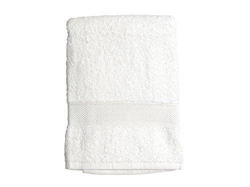 Soleil d'ocre 441100 Douceur Drap de Bain Coton Blanc 70 x 130 cm