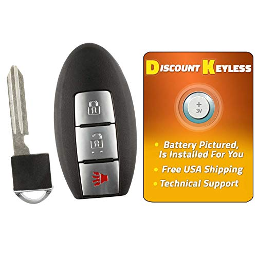 Discount Keyless Remote Control Entry Replacement Car Smart Key Fob For Nissan Pathfinder Versa CWTWBU729