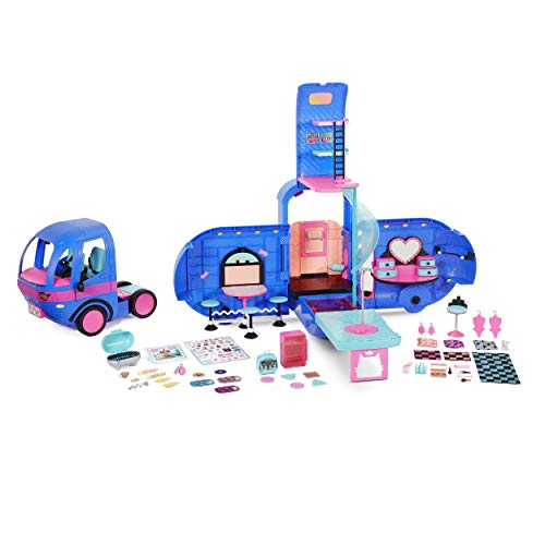 L.O.L. Surprise! O.M.G. 4-in-1 Glamper Fashion Camper with 55+ Surprises - Electric Blue