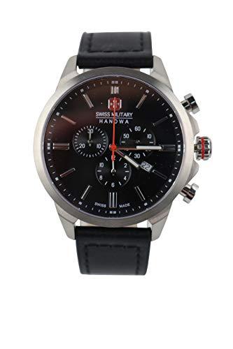 Swiss Military Hanowa 06-4332.04.007 Armbanduhr Chronograph Classic II schwarz