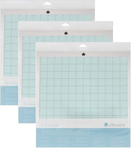 Silhouette America CUT-MAT-12-3T Cameo 3 Mat (3 Pack) with 30 Day Smart Silhouette Membership