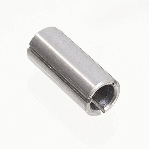 Reduzierhülse 12 mm auf Schaft 8 mm Hülse Reduzierstück für Oberfräse