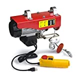 1320 Lb Overhead Electric Hoist Crane Lift Garage Winch W/Remote Control-Kaixun