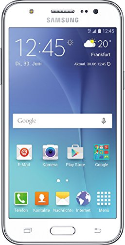 Samsung Galaxy J5 Smartphone, Bianco [Germania]