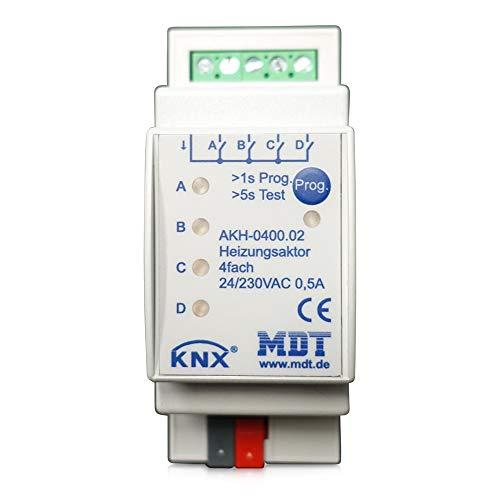 MDT® KNX Heizungsaktor 4-fach / 2TE / 24-230V (AC) > AKH-0400.02