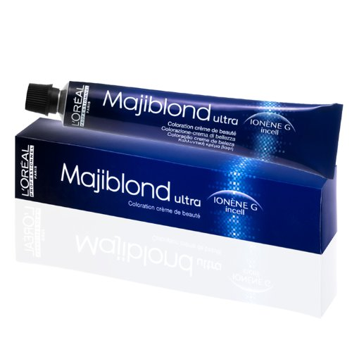 L´Oréal Majiblond 921 extra Blond Irise Asch, Blondierung, permanente Coloration, 50 ml