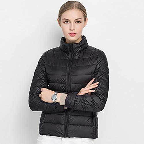 YRFHQB Winter vrouwen Ultralicht donsjack 90% donsjas lange mouwen warme mantel dunne parka vrouwelijk draagbare lente outwear