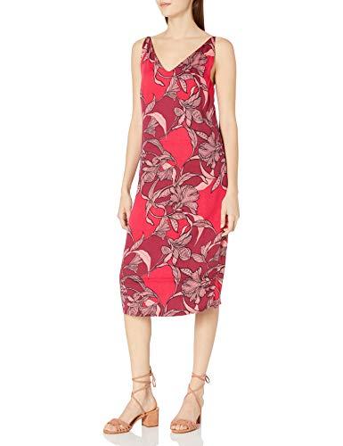 MINKPINK Women's Femme Fatale Floral Print Slip Dress, Multi, Small