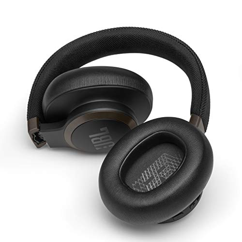JBL Live 650BTNC Wireless Over-Ear Noise-Cancelling Headphones with Alexa (Black) (JBLLIVE650BTNCBLK)