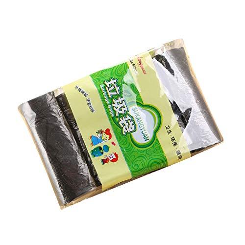Müllbeutel/Müllsack 45X50cm, ✓extra stark ✓wasserdicht ✓100% recyclingfähig – 5 Rolle/18 St.