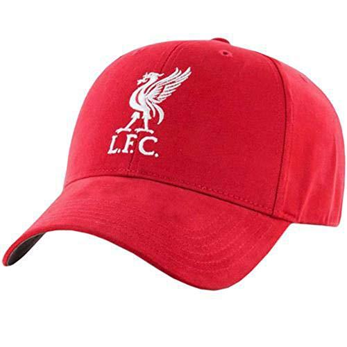 Liverpool LFC Fußball Baseballmütze plain rot Klettverschluss offizielle