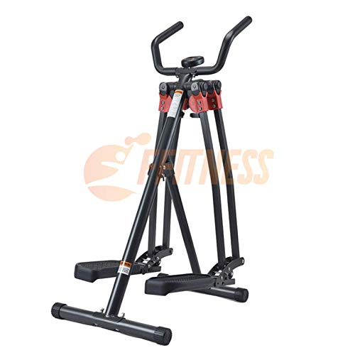 FLMD068N Versione Premium Air Walker Strider Elliptical Ellittica da Camera Pieghevole Cross Trainer Fitness
