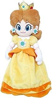 Little Buddy Super Mario All Star Collection 1419 Daisy Stuffed Plush, 9.5