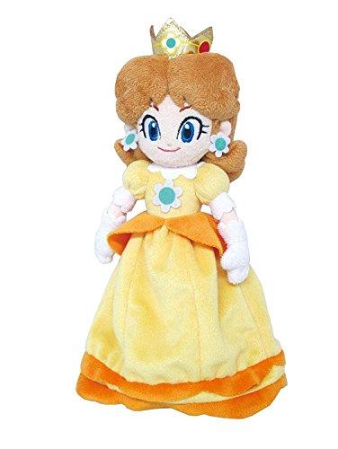 Little Buddy Super Mario All Star Collection 1419 Daisy Stuffed Plush, 9.5'
