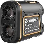 Zamkol Golf Laser Rangefinder, 1000 Yards Laser Rangefinder,IP54 Laser Binoculars for Hunting,Multi-Function Hunting Rangefinder