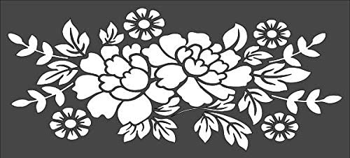 Lowest price challenge 1- 5x11 inch Custom Cut Stencil PE-70 Swag Cr Arts Very popular and Flower