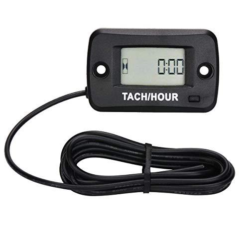 ZYJ Tacómetro Cronómetro Digital Velocidad del Motor RPM