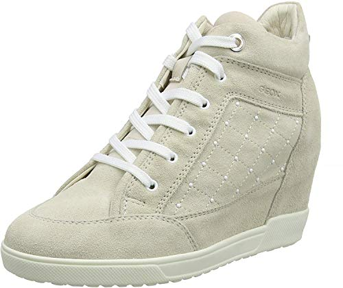 Geox Dames D Carum C Hi-Top Sneakers