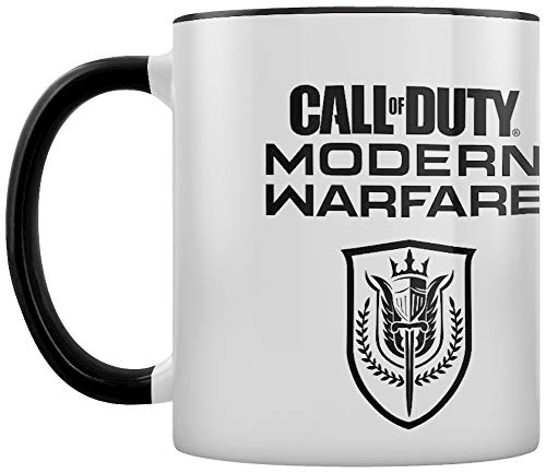 Call of Duty: Modern Warfare (Stealth) MGC25594 Call of Duty: Modern Warfare - Taza de cerámica de 315 ml (Stealth)