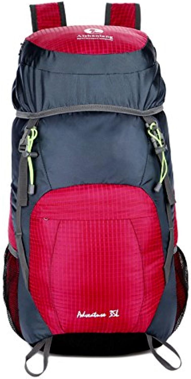 95fa8f9336da GWQGZ Leisure Capacity Outdoor Backpack Folding Ultra Light Travel ...