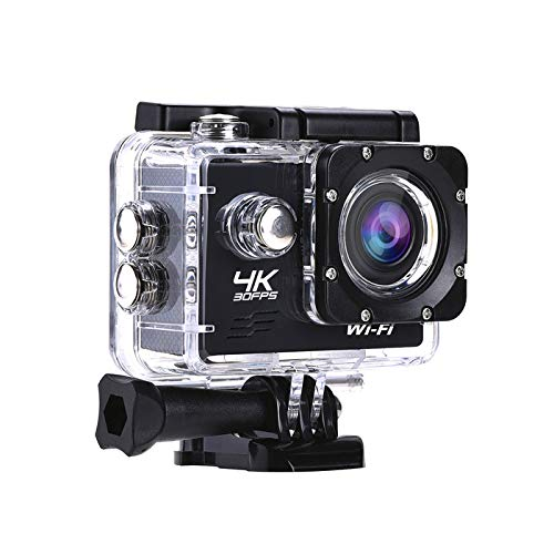 Lintern Pro LPX-16 'Explore' Carry Package | Stunning 16MP 4K HD WIFI Waterproof Sports Action Camera With Zip Case & Memory Card - Mounting Accessories Kit Included
