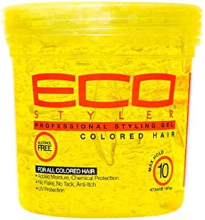 Eco Styler Eco Styler Styling Gel Colored Hair Yellow 473 ml 473 ml
