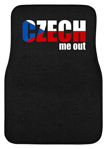 Generieke grappige Czech Me Out - Check Me Out - Tsjechische Republiek Europa EU fan Party - automat