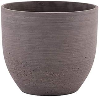 مزهرية حجر الرمل دائرية بني من ليتل جرين هاوس - صغير