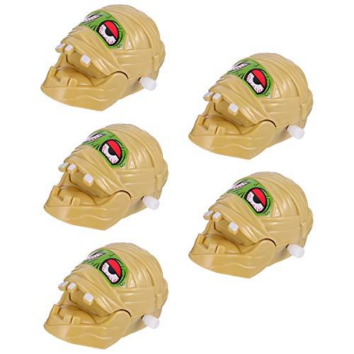 SOIMISS 5 Stück Halloween Aufziehspielzeug Pop- up Spielzeug Mumie Uhrwerk Spielzeug kreativ (wie Gezeigt) Halloween mit Dekoration