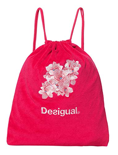 Desigual Hindi Dancer Gym Sack Poppy Coral