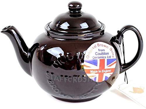 BROWN BETTY Brown Betty teapot 2 cups New model logo