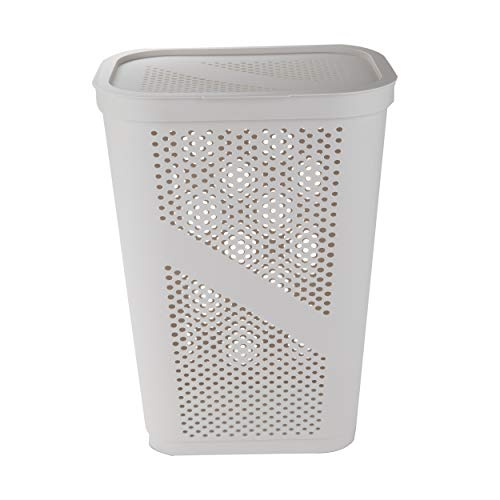Perforated Plastic Laundry Basket
