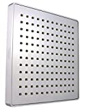 Vida Alegría Spashower RAIN 8-Inch Square Soft Rain 2.5 GPM Shower...