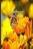 Cuaderno Mariposa: Lleve un registro de todas sus actividades con este cuaderno fácil de seguir.