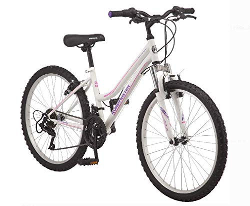 Product Image of the Roadmaster 24' Granite Peak Girls' Bike | Front and Rear Handbrakes | Knobby...
